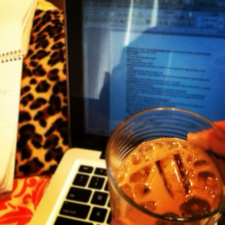 I'm drinking a White Russian and writing a paper