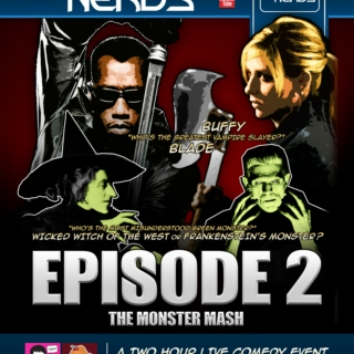 West Coast Geeks vs Nerds - Episode 2: The Monster Mash