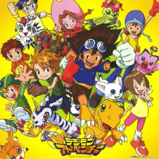 Digimon series songs