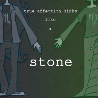 true affection sinks like a stone