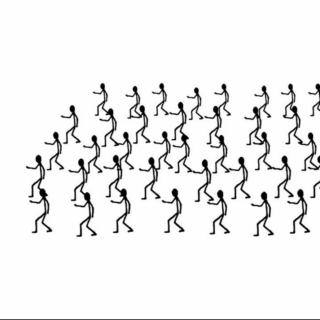 Stick Figure Dance Party
