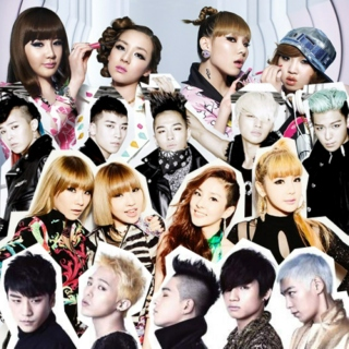 YG Family (Big Bang + 2NE1)