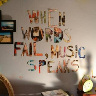 When Words Fail, Music Speaks...