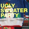 hipster ugly sweater party.