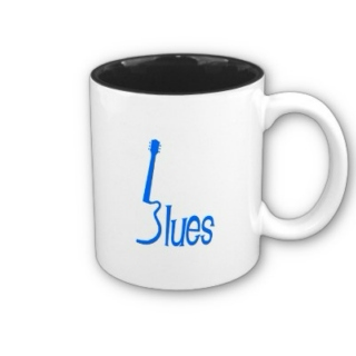 I want coffee and blues