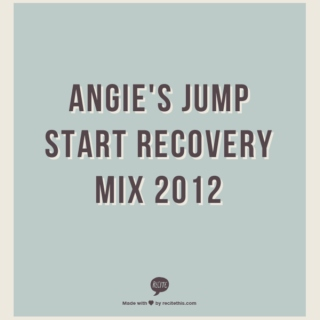 Angie's Jump Start Recovery Mix 2012