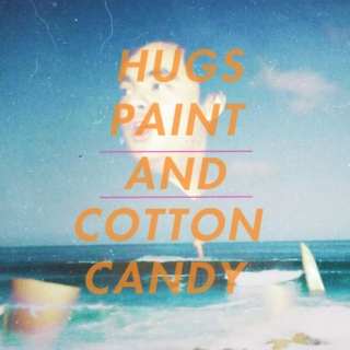 Hugs Paint And Cotton Candy