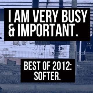 Best of 2012 - Softer