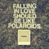 don't be afraid to fall in love again