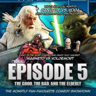 West Coast Geeks versus Nerds - Episode 5: The Good, The Bad, and The Elderly