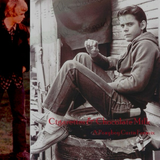 Cigarettes and Chocolate Milk: A Ponyboy Curtis Mix