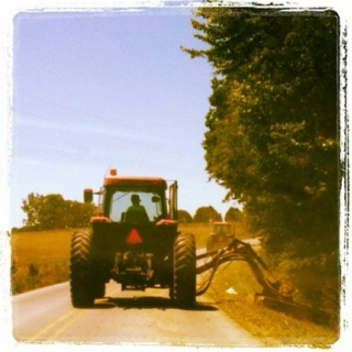 Tractors, whiskey and a little summer love