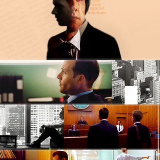 SUITS-The Name's Specter. Harvey Specter.