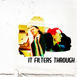 it filters through