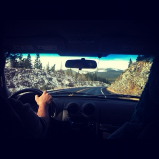 mountain driving