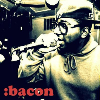 Some bass with that bacon, sir?