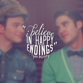 I believe in happy endings // A Klaine Playlist