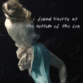 i found liberty at the bottom of the sea