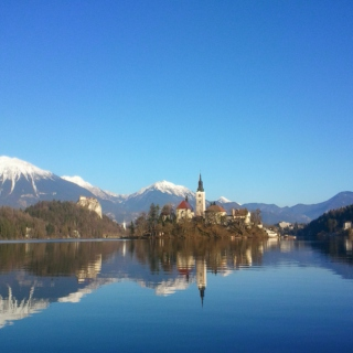 Walk around Bled