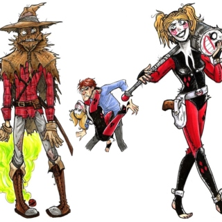 The Harlequin and the Scarecrow