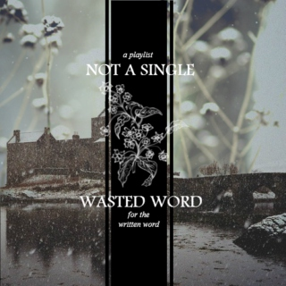 not a single wasted word