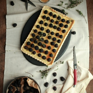 Blackberry Tarts for Breakfast