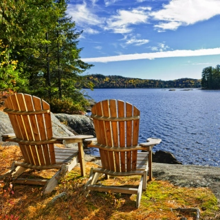 Moosehead and Muskoka Chairs