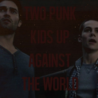 two punk kids up against the world