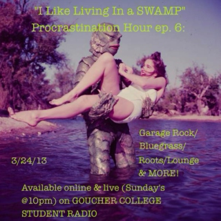 Ep. 6 I like living in a SWAMP (garage rock/bluegrass/lounge/roots)