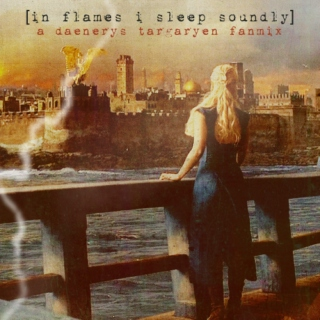 in flames i sleep soundly