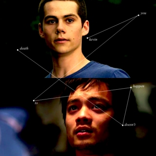 death doesn't happen to you, kevin {a kevin/stiles fanmix}