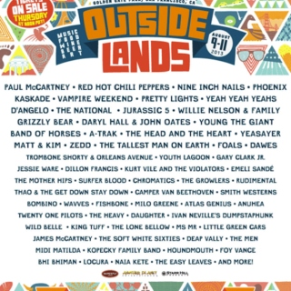 Outside Lands 2013 Mix!!