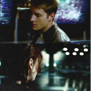 65 x 74 ❀ a finnick/katniss mix