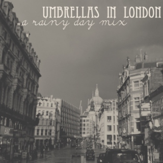 umbrellas in london
