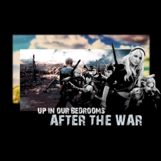 up in our bedrooms after the war