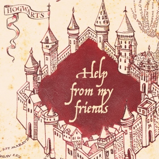Help From My Friends (a marauders mix)