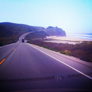 hangin' & happy (on highway 1)