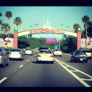 Take me to Disney World!