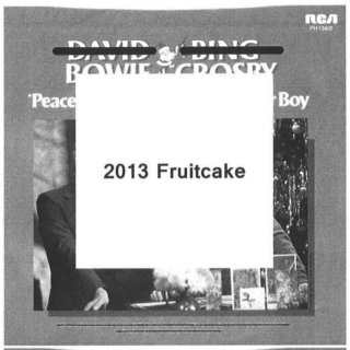 2013 Fruitcake Mix