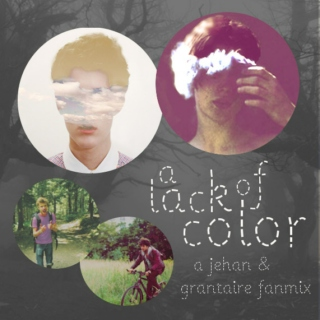a lack of color (a jehan/grantaire mix)