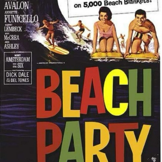 Retro Beach Party