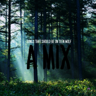 songs that should be on teen wolf [a mix]