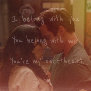 i belong with you, you belong with me