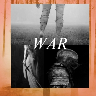 ii. WAR; bury me in armor