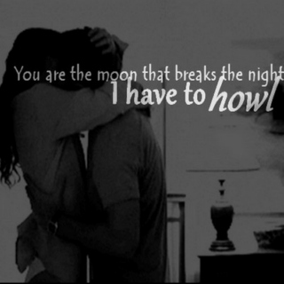 you are the moon (that breaks the night)