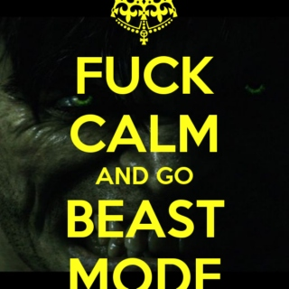 BEAST MODE TURNED ON