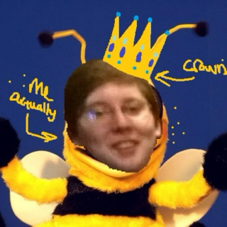 my fursona is a giant fcking BEE