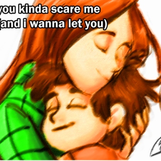 you kinda scare me and i wanna let you // wendip fanmix