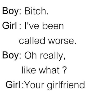 +I'm not your girlfriend