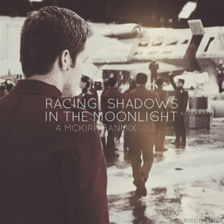Racing Shadows In The Moonlight